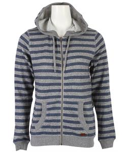 Roxy Beauty Stardust Striped Hoodie Dark Denim