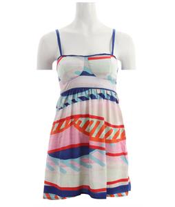 Roxy Buried Shell Dress Deep Ultramarine Print