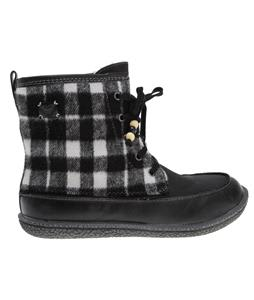 Roxy Canoe Boots Black