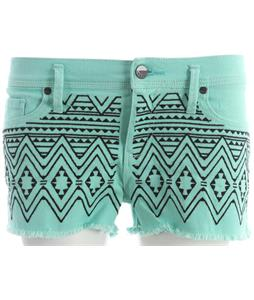 Roxy Carnivals Emb Shorts Cabbage