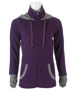Roxy Cozy Up Fleece Blackberry Cordial/Anthracite