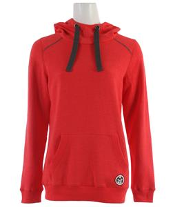 Roxy Early Months Pullover Hoodie Hot Rose