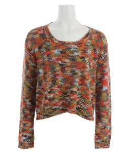 Roxy Elm Sweater Sea Urchin Multi Pattern