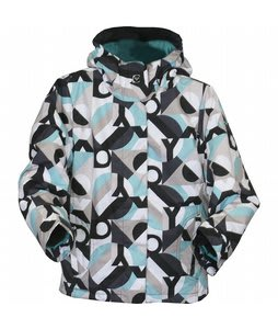 Roxy Glider Snowboard Jacket Black/Blue Jumpstart