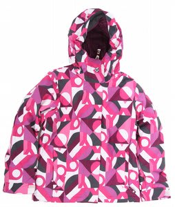 Roxy Glider Snowboard Jacket Flora/Phlox Pink Teenie Moonlight