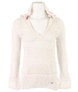 Roxy Gridley Open Knit Poncho Shirt