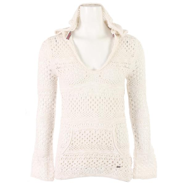 Roxy Gridley Open Knit Poncho Shirt