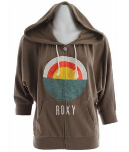 Roxy Harmony Hoodie Army Brown