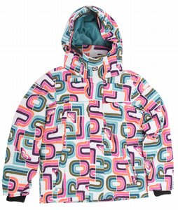 Roxy Hopscotch Snowboard Jacket White Special Blend