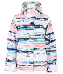 Roxy Jetty 3 in 1 Snowboard Jacket Scenic Stripes/Bright White