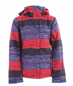 Roxy Jetty Insulated Snowboard Jacket Moody Blue