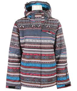 Roxy Jetty Snowboard Jacket Toluca Stripe/Anthracite