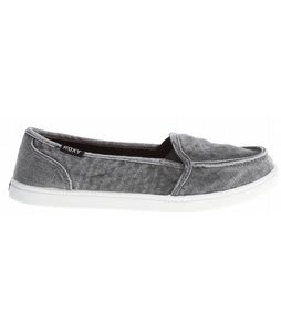 Roxy Lido Shoes Black Enzyme Washed