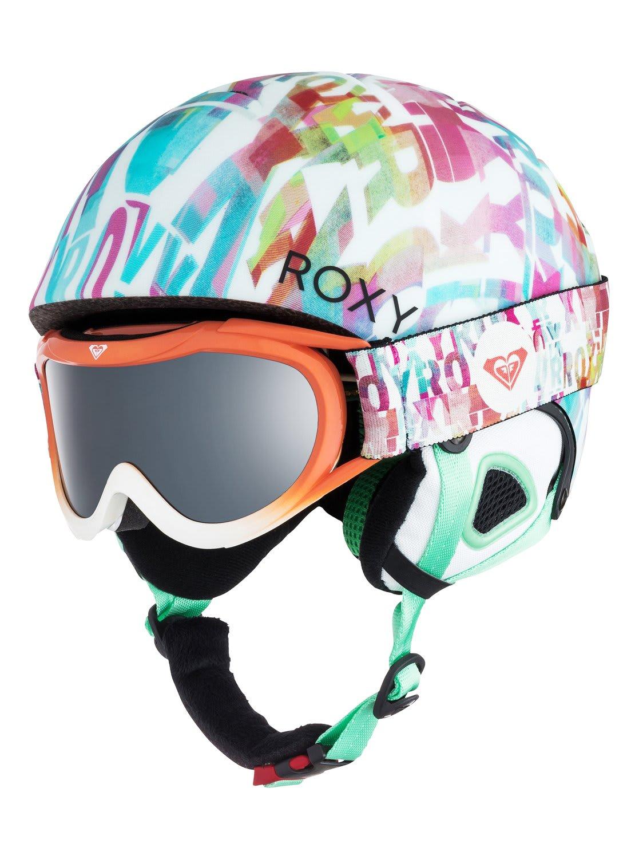 Roxy Misty Pack W Goggles Snow Helmet Girls