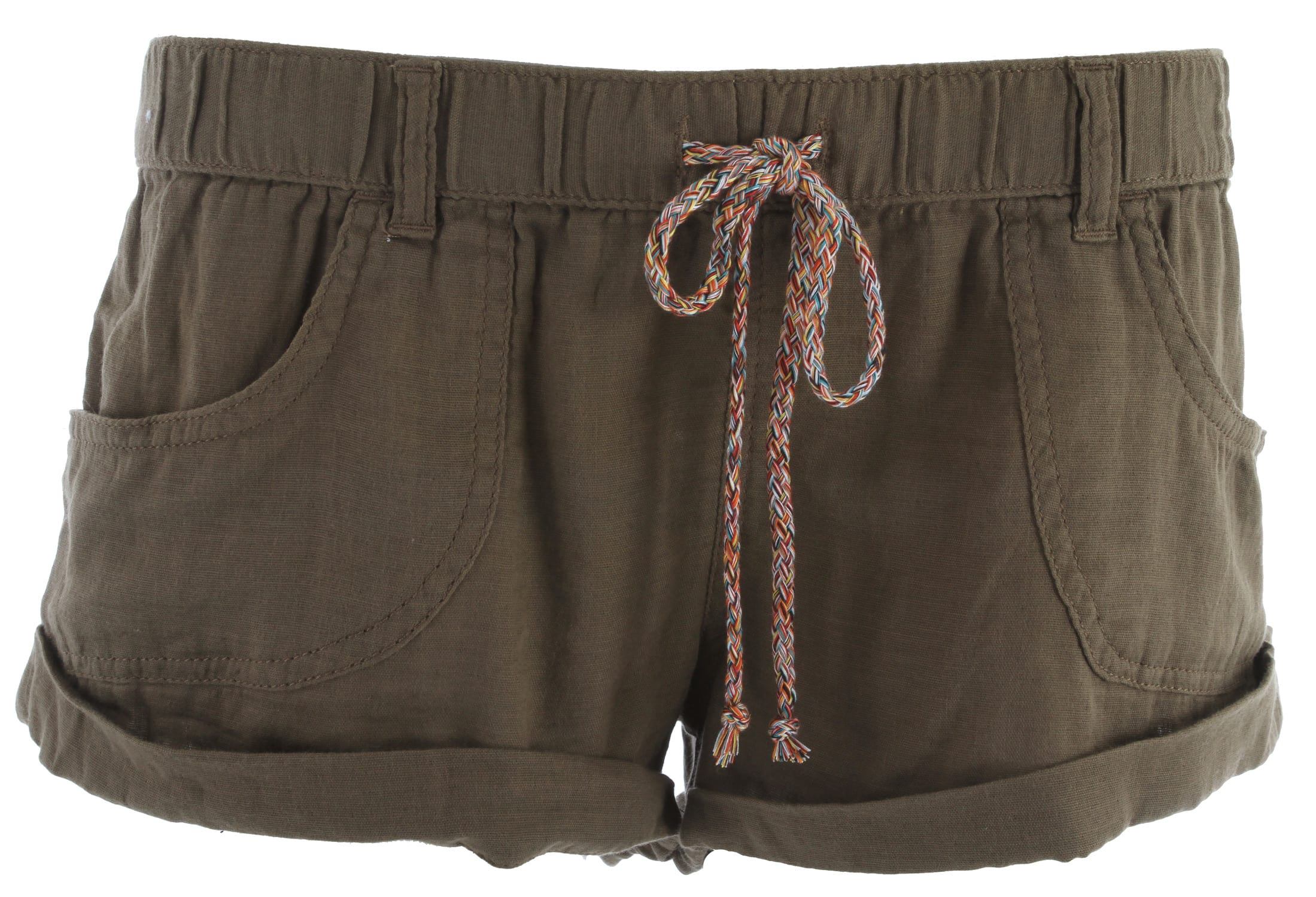 Shop for Roxy Nomad Shorts Alloy Brown - Women's