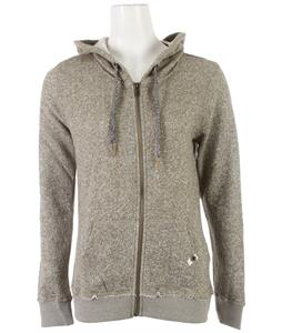 Roxy North Star Hoodie Recruit Olive
