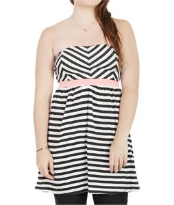 Roxy Now You See It Dress True Black Stripe