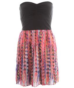 Roxy One Day Soon Dress Paradise Pink Print