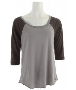 Roxy Opening Day Raglan T-Shirt Granite Heather