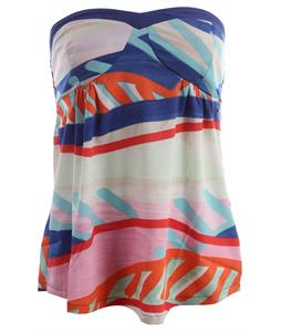 Roxy Outsail Top Deep Ultramarine Print