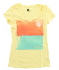Roxy Palm Square T-Shirt Sunshine