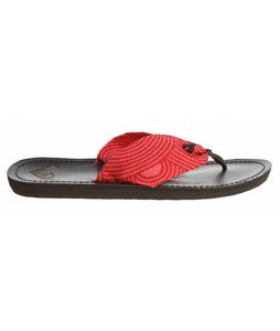 Roxy Pancho Sandals Coral