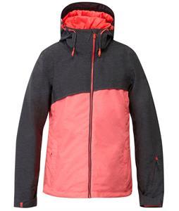 Roxy Pandorea Snowboard Jacket Anthracite/Diva Pink