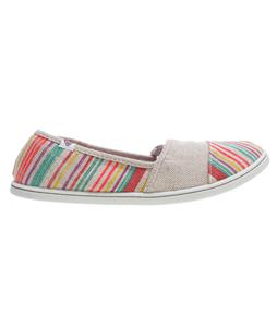 Roxy Pier II Shoes Tan/Multi Stripe