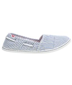 Roxy Pier Cruz Shoes Blue/White Stripes