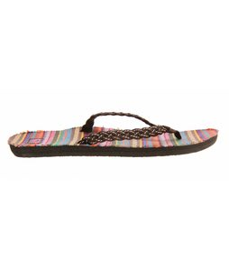 Roxy Pinata Sandals Brown