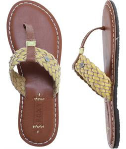 Roxy Pisco Sandals Yellow