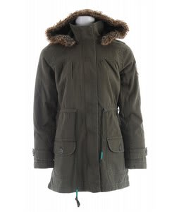 Roxy Queen Of Tides Jacket Military Green