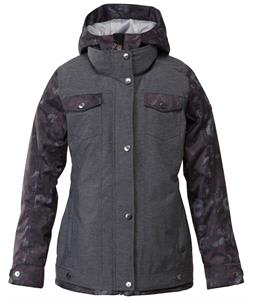 Roxy Rizzo Snowboard Jacket Dark Floral/Anthracite