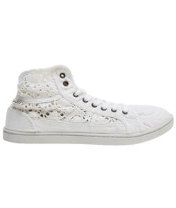 Roxy Rockie Crochet Shoes Off White