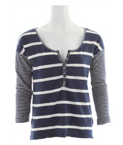 Roxy Rough Seas Shirt Open Ocean Stripe