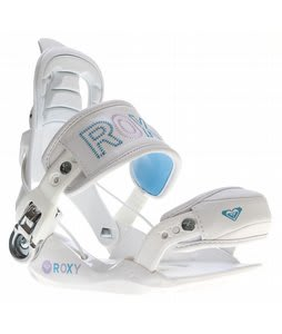 Roxy RX Fastec Snowboard Bindings White