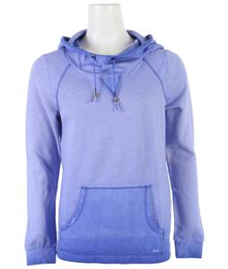 Roxy Saltwater Breeze Hoodie Corn Flower Spray Wash Pattern