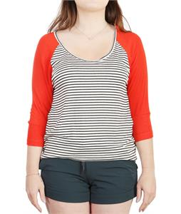 Roxy Sea Love Shirt Fiery Red
