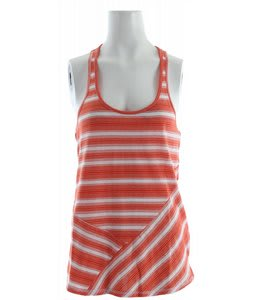 Roxy Shallow Tank Hot Orange Stripe