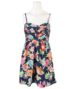 Roxy Shore Thing Dress Esate Blue Tropical Floral