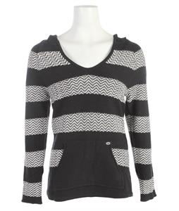 Roxy Somewhere Else Sweater True Black Pattern Stripe