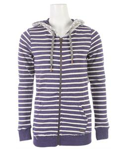 Roxy South Star Hoodie Indigo Stripe
