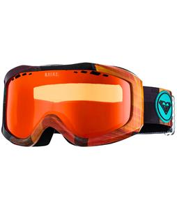 Roxy Sunset Art Goggles Brown/Orange/Orange Lens