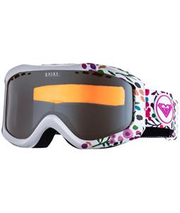 Roxy Sunset Art Goggles White/Orange Chrome Lens