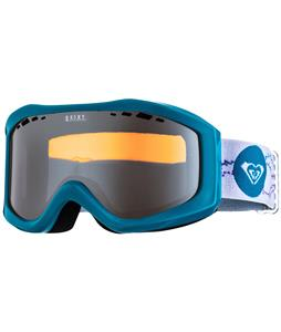 Roxy Sunset Goggles Light Blue/Orange Chrome Lens