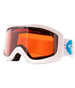 Roxy Sunset Goggles White/Orange Chrome Lens