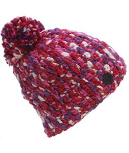 Roxy Swirl Beanie Bright Rose