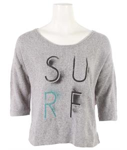 Roxy Switch Foot Sweatshirt Heritage Heather