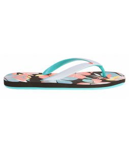 Roxy Tahiti III Sandals Black Multi