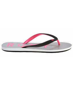 Roxy Tahiti III Sandals Black/White Stripes